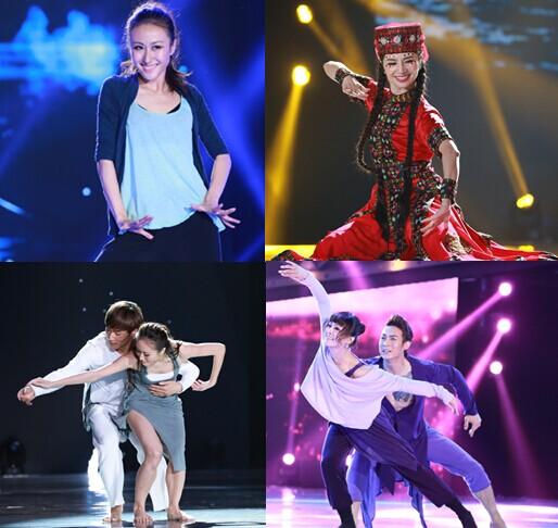 决赛再续热舞梦 导师学员助阵中国好舞蹈官方手